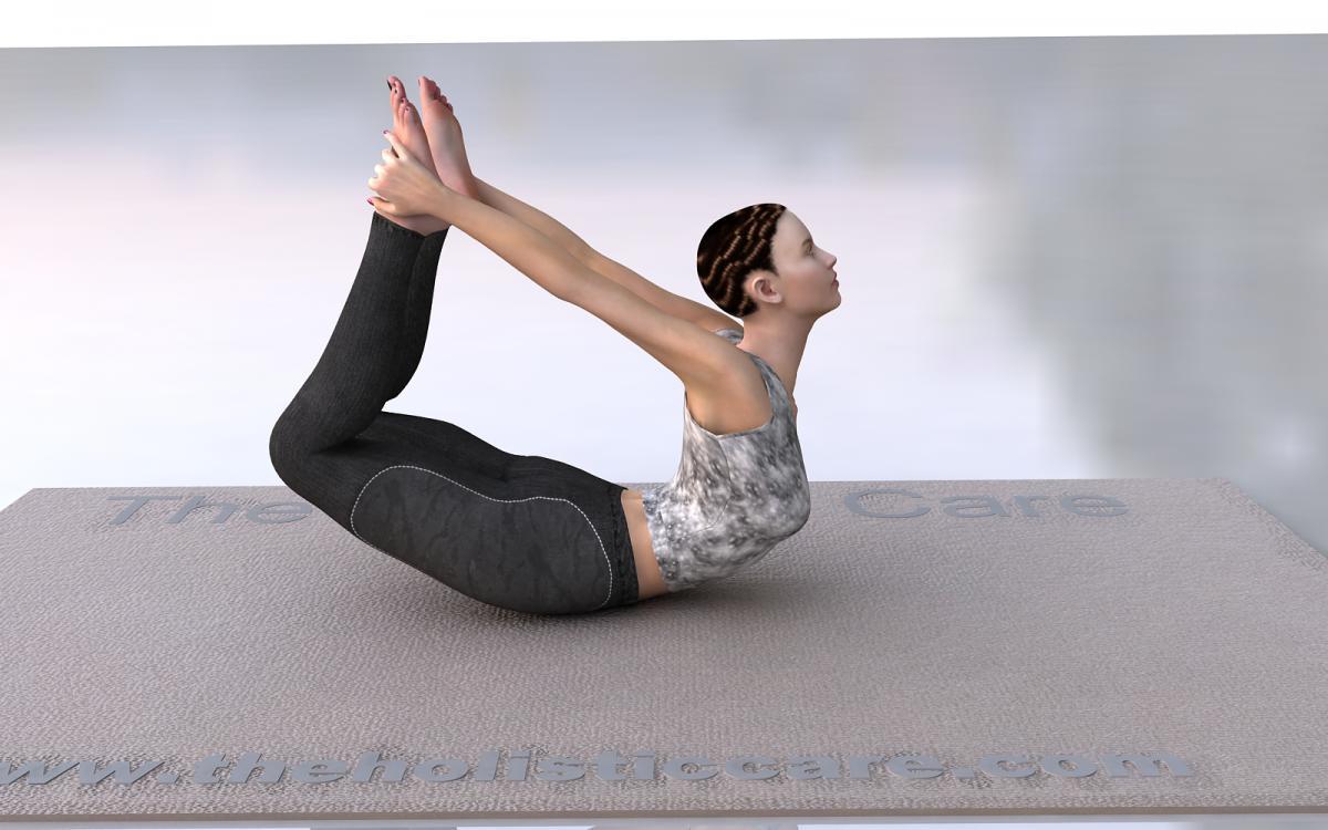 Dhanurasana - Bow Yoga Pose