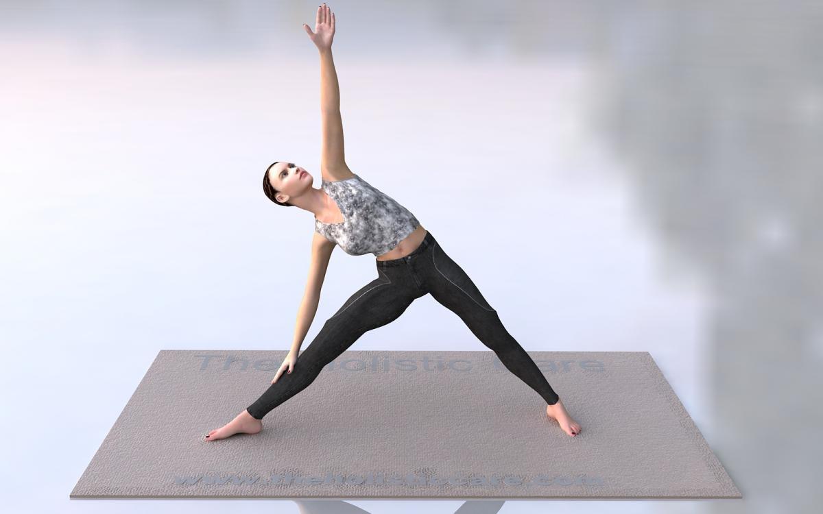 Trikonasana - Triangle Yoga Pose