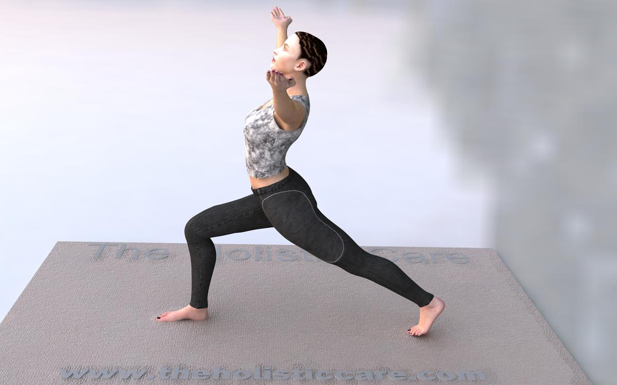 Virabhadrasana I - Warrior I Yoga Pose